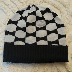 Kate Spade bow knit hat